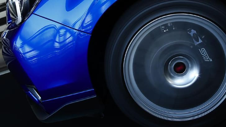 Subaru Forester STI teaser - wheels in motion