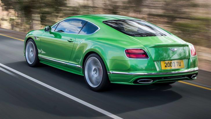 Bentley Continental GTPhoto: James Lipman / jameslipman.com