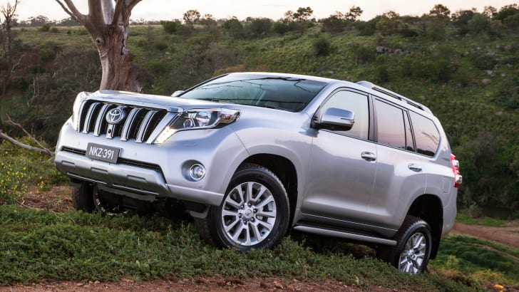 Toyota Prado - best-selling large SUV 2013 (Kakadu shown)