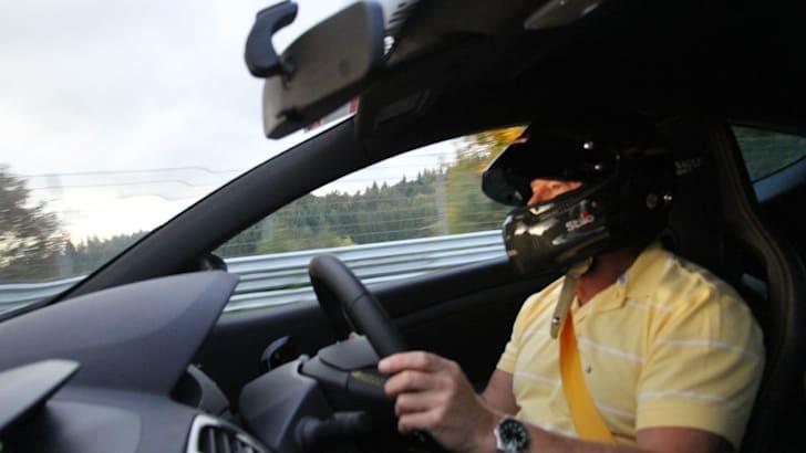 The Nurburgring expreinece: Renualt Megane RS26530