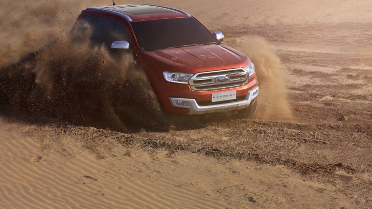 New Ford Everest_Sand