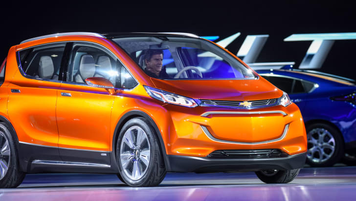 Chevrolet Unveils Bolt EB and Next Generation Volt