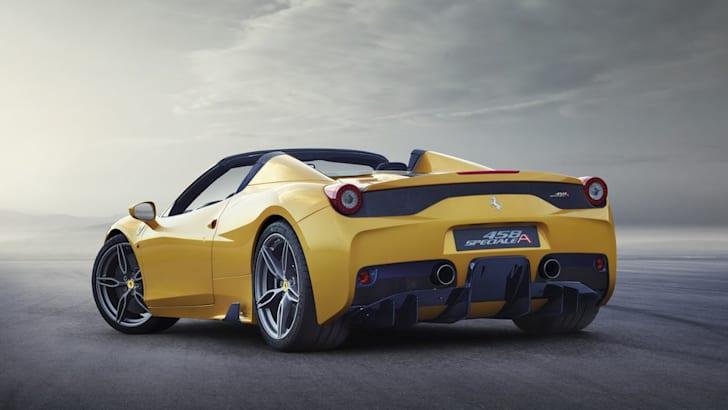 Ferrari 458 Speciale A - rear