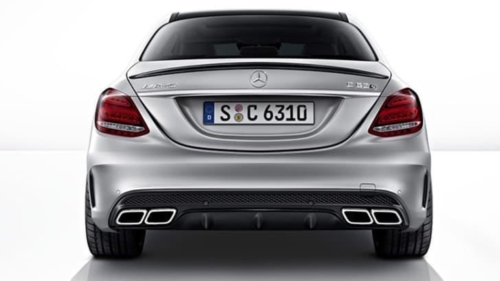 mercedes-c63-amg-leak-rear