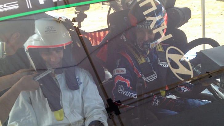 Hyundai i20 WRC hot laps with Chris Atkinson - 5