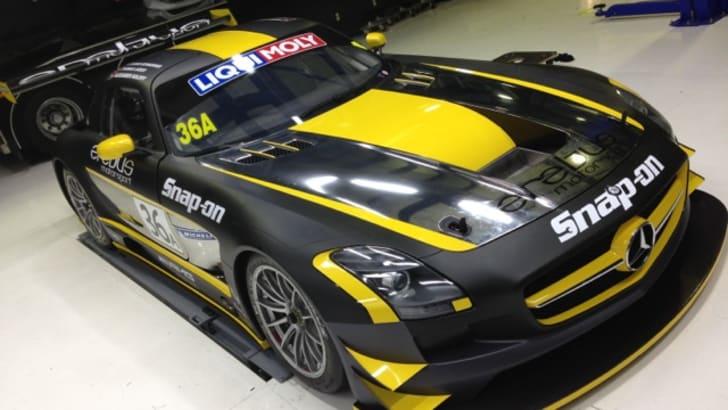 Erebus Motorsport SLS AMG GT3 - 1