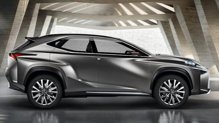 Lexus NX profile