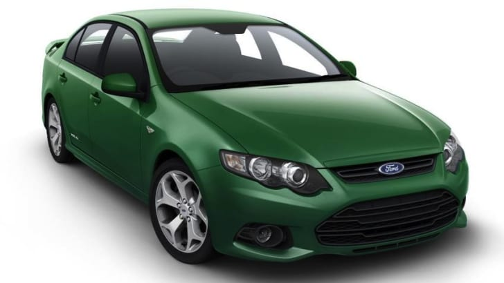 Ford Falcon inline six engine hasn't reached fuel efficiency