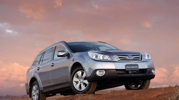 MY10 Subaru Outback Diesel