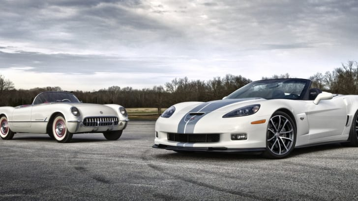 Chevrolet Corvette - Old and New