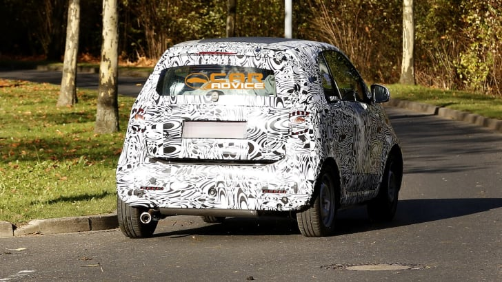Smart ForTwo Spied - 6