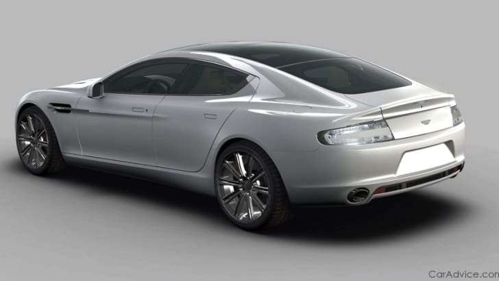 2010 Aston Martin Rapide first official images