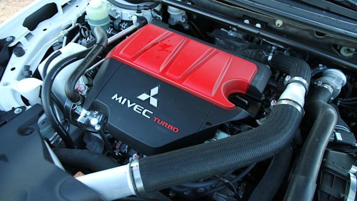 Mitsubishi Evolution Engine