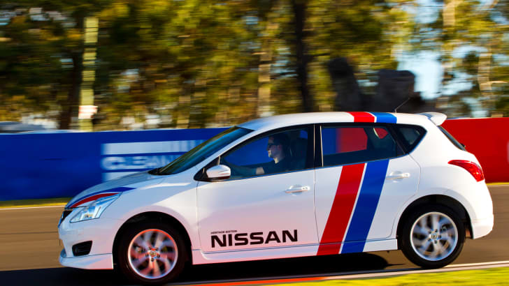 Nissan Pulsar SSS heritage edition 1