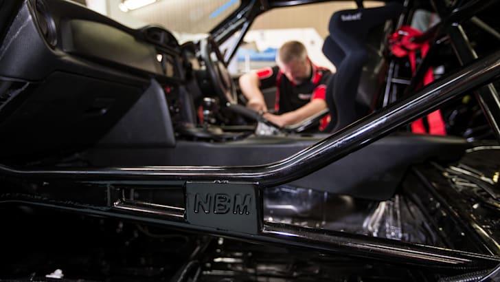 2015 Toyota 86 Pro-Am development car build at Neal Bates Motorsport