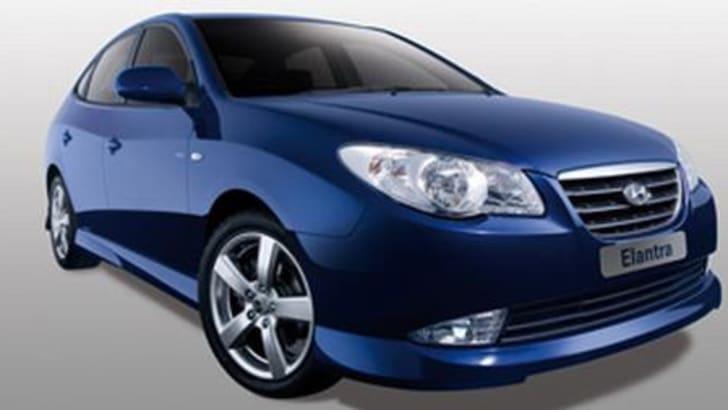 Hyundai Elantra Sedan Body Kit