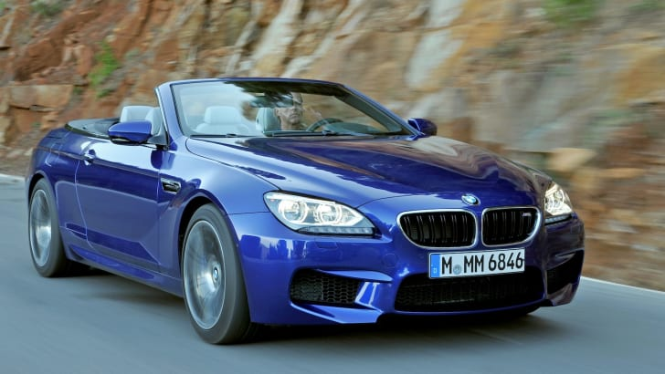 BMW M6 Convertible - Blue