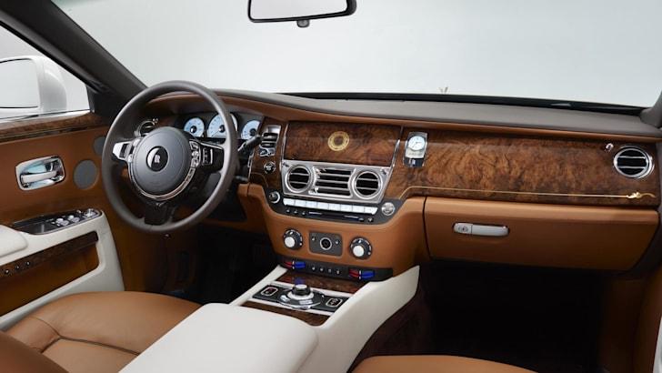 Rolls-Royce Ghost Golden Sunbird - 5