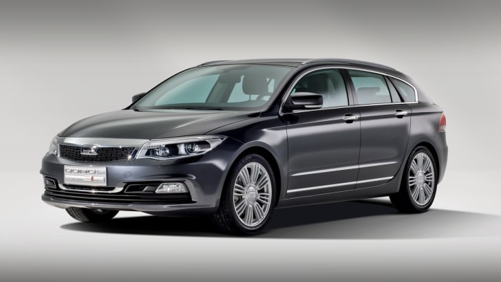 Qoros 3 Estate Concept - 1