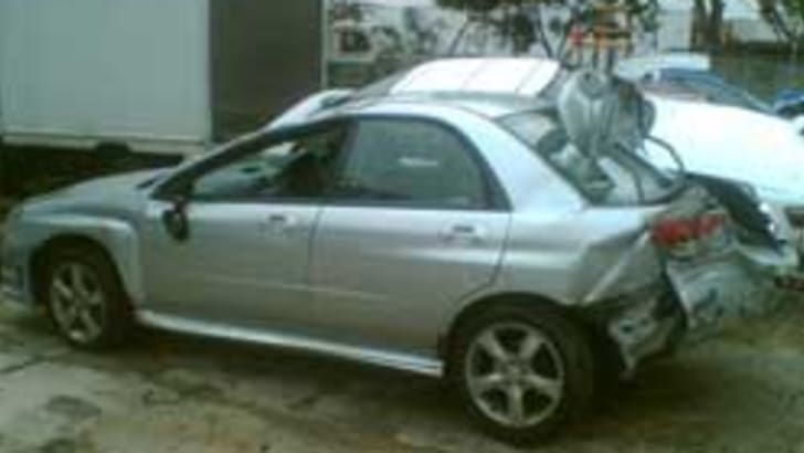 Subaru Impreza Crash Picture