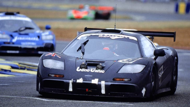 McLaren F1 GTR at the 1995 Le Mans 24 Hours