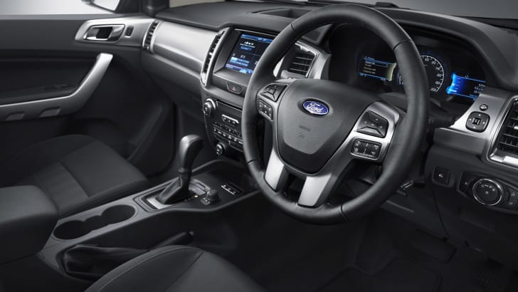 New Ford Ranger 5_interior driver