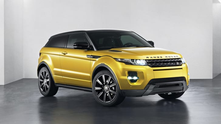 Range Rover Evoque Sicilian Yellow Limited Edition - 2