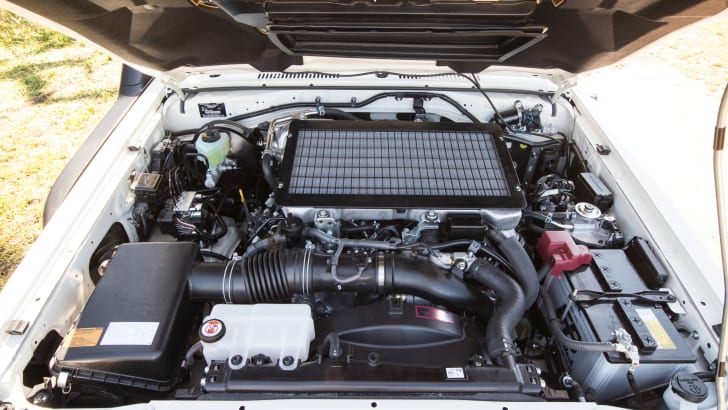2016 Toyota LandCruiser 70 Series engine