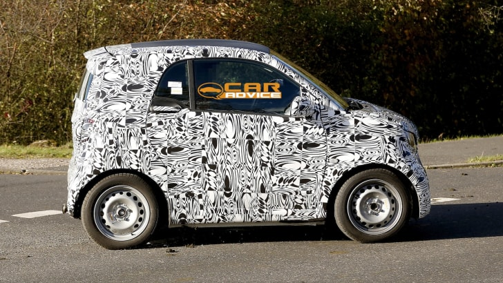 Smart ForTwo Spied - 4
