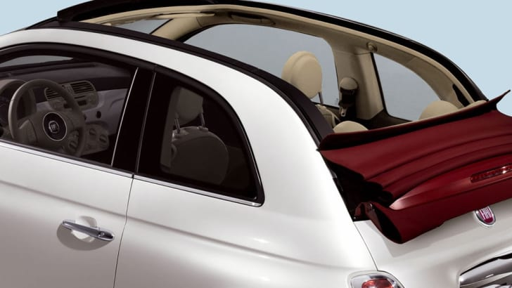 2009 Fiat 500C official images leaked