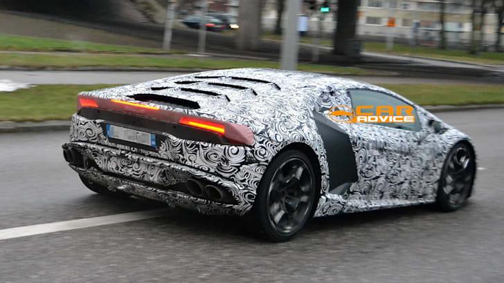 Lamborghini Cabrera Spied - 7
