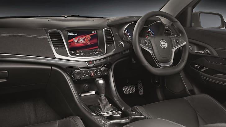 Vauxhall Maloo LSA_interior