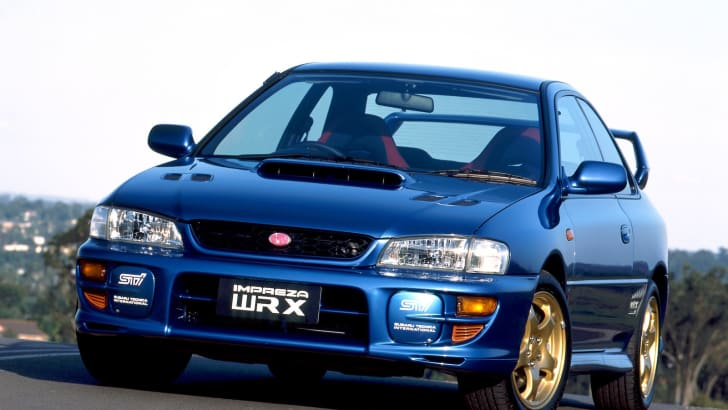 Subaru Impreza WRX STI Version V