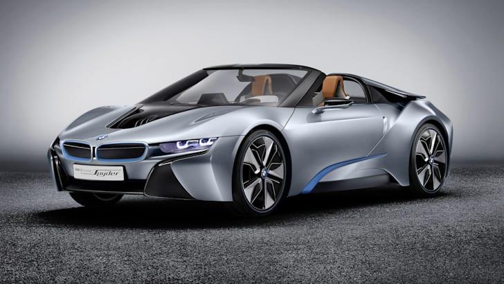 BMW i8 Spyder static front