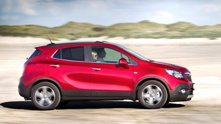 Opel Mokka driving profile