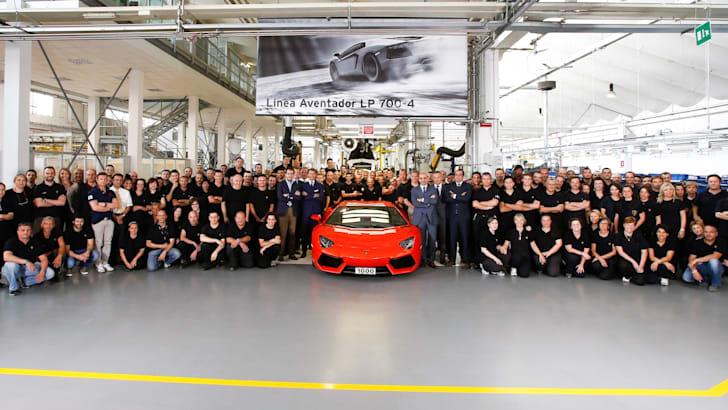 Lamborghini's 1000th Aventador - 2