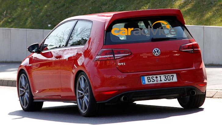 Volkswagen Golf GTI Special Spied - 6