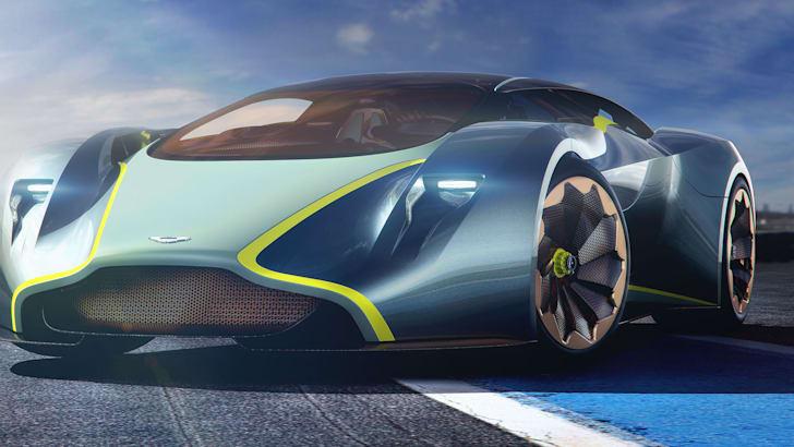 Aston Martin DP-100 front