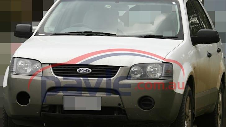 2010 Ford Territory Diesel Spy Photos