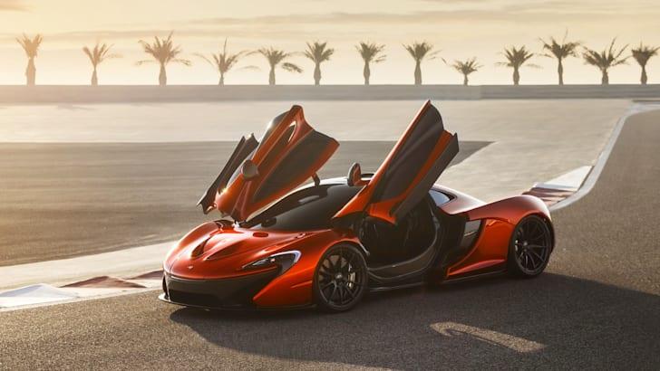 McLaren P1 at BIC - 5