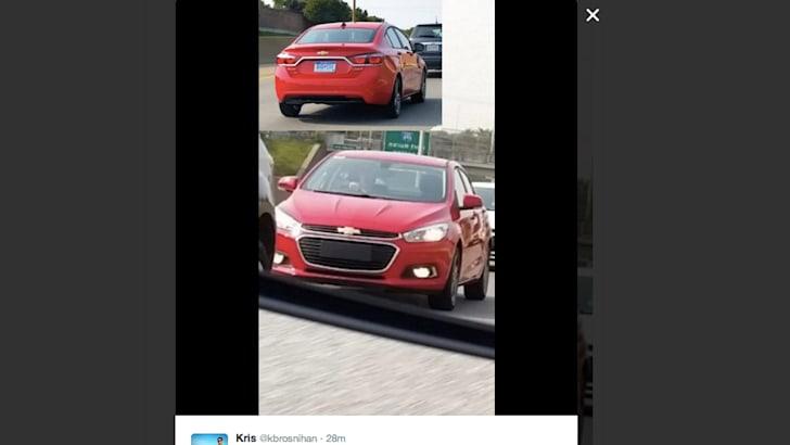 Twitter Chevrolet Cruze