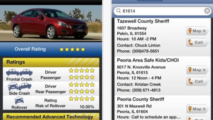 NHTSA SaferCar App - 1