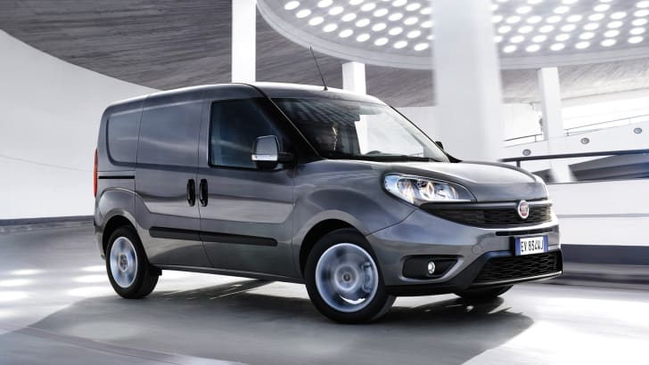 Fiat Doblo facelift - action shot