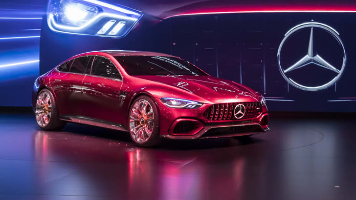 Mercedes-Benz auf dem Internationalen Automobil-Salon Genf 2017Mercedes-Benz at the Geneva International Auto Show 2017