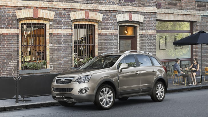 Holden Captiva 5 2