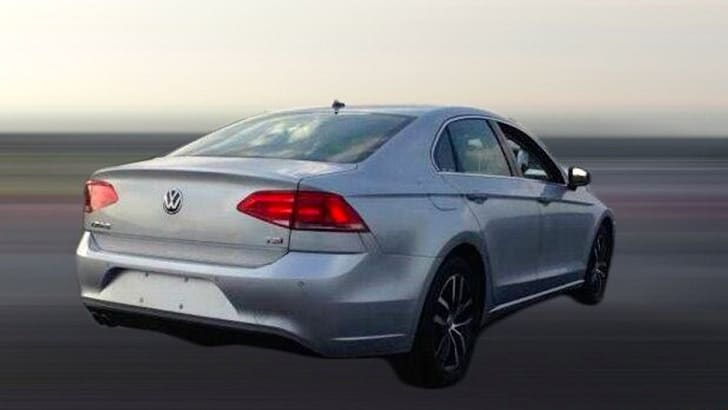 Volkswagen New Midsize Coupe production model 2