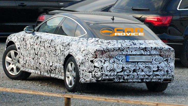 Audi A7 Facelift Spied - 4