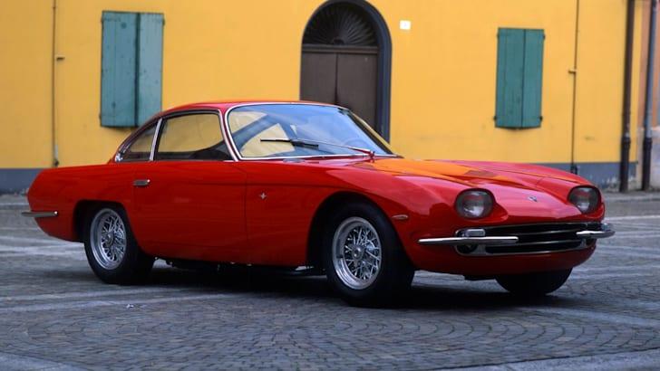 Lamborghini 350 GT colore rosso, anno 1964  esemplari prodotti n.135