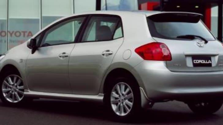 2007 Toyota Corolla Hatch Rear