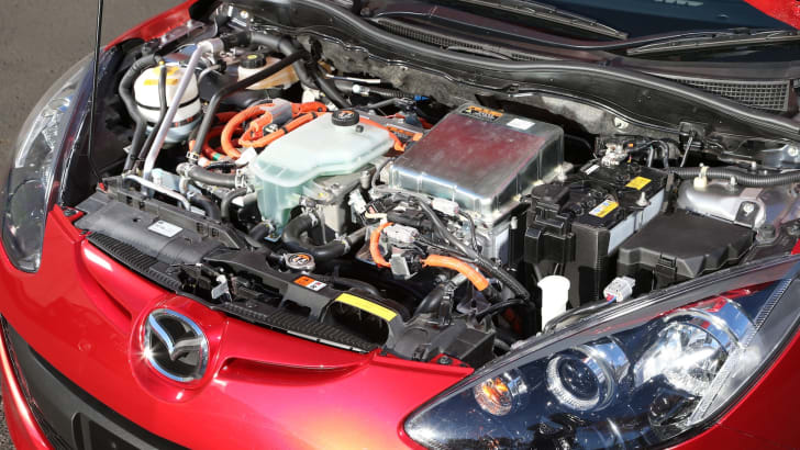 Mazda 2 Rotary RE engine bay